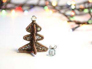 Новинка: Новогодняя ёлка и подарок 2019. Ярмарка Мастеров - ручная работа, handmade.