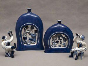 Синяя посуда: возрождение и утрата. Ярмарка Мастеров - ручная работа, handmade.