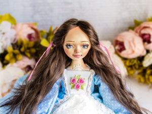 Бернадетт авторская кукла, интерьерная коллекционная кукла, подарок. Ярмарка Мастеров - ручная работа, handmade.