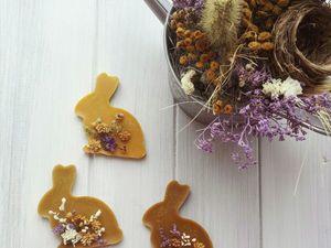 Пасхальные кролики, медово-цветочные саше. Ярмарка Мастеров - ручная работа, handmade.