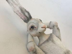 Мой новый кролик Эдвард. Ярмарка Мастеров - ручная работа, handmade.