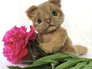 Скидка 30% на кота в честь Дня кота!!!! Акция продлится до 8 марта!. Ярмарка Мастеров - ручная работа, handmade.