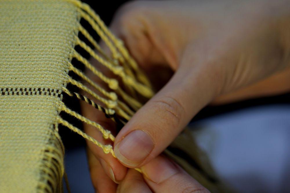 ткачество, творчество, рукоделие, шарф, весна, записки