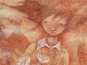Огненно-рыжее. Из Грузии. Ярмарка Мастеров - ручная работа, handmade.