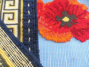 Строительная сетка вместо канвы, или Как уменьшить затраты на материалы в вышивке | Ярмарка Мастеров - ручная работа, handmade