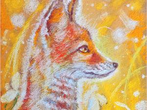 Солнечный апрель - новая картина пастелью!. Ярмарка Мастеров - ручная работа, handmade.