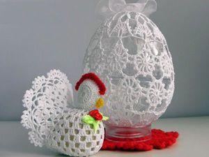 Светлый Праздник Пасхи!!! Вяжем курочек, зайчиков и пасхальные яйца! | Ярмарка Мастеров - ручная работа, handmade
