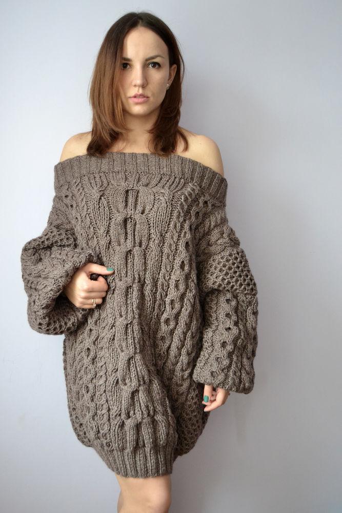 удлиненный свитер, мокрый асфальт