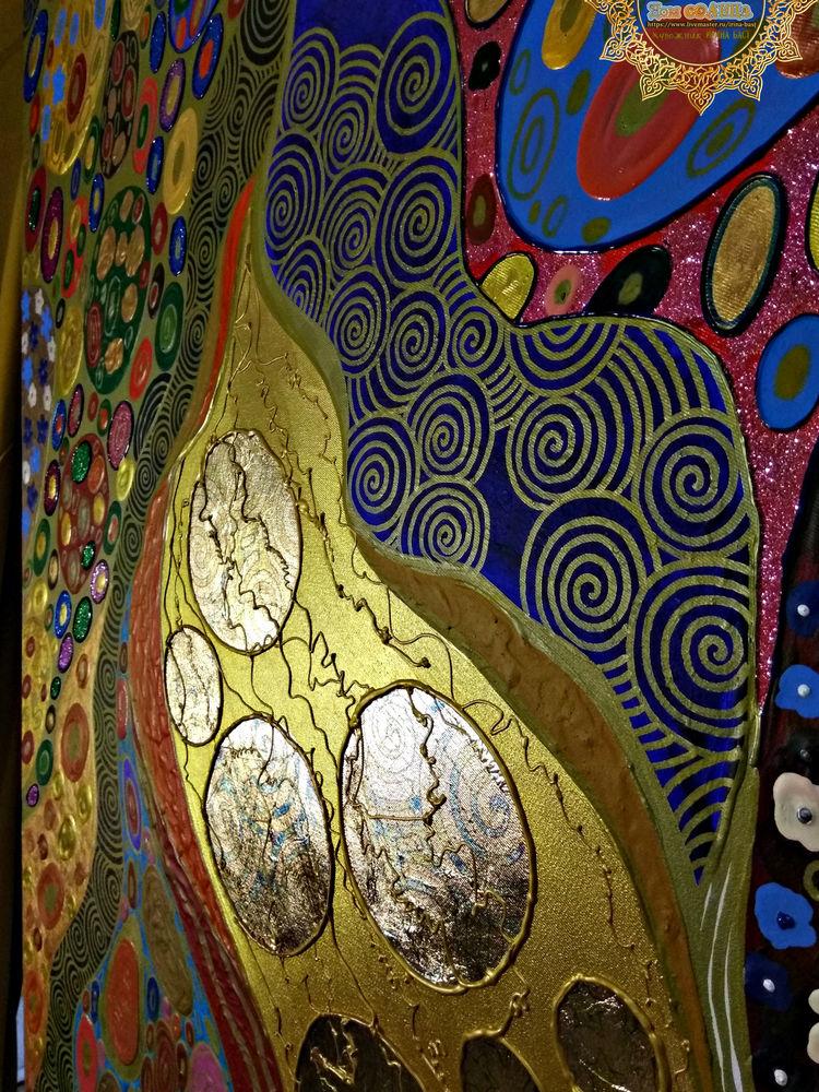 орнамент золото узоры картина