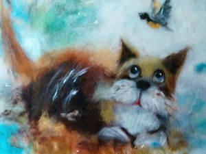 Не забудьте поздравить Кошек!))) | Ярмарка Мастеров - ручная работа, handmade