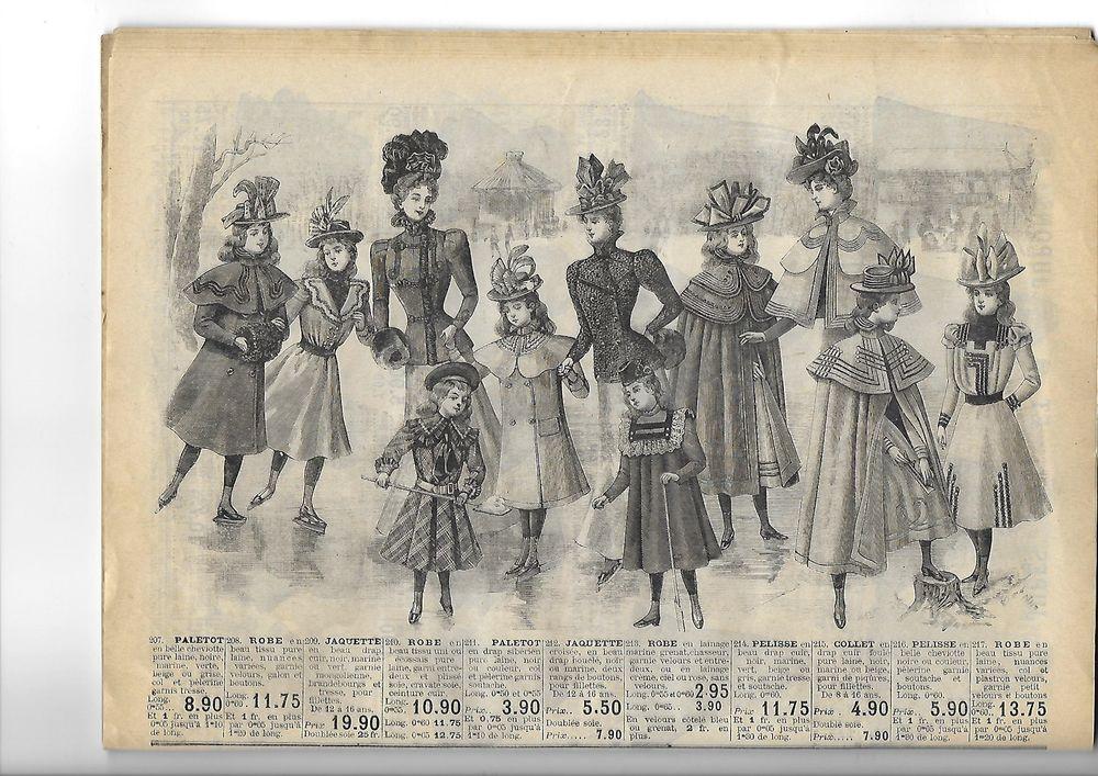старинный журнал мод