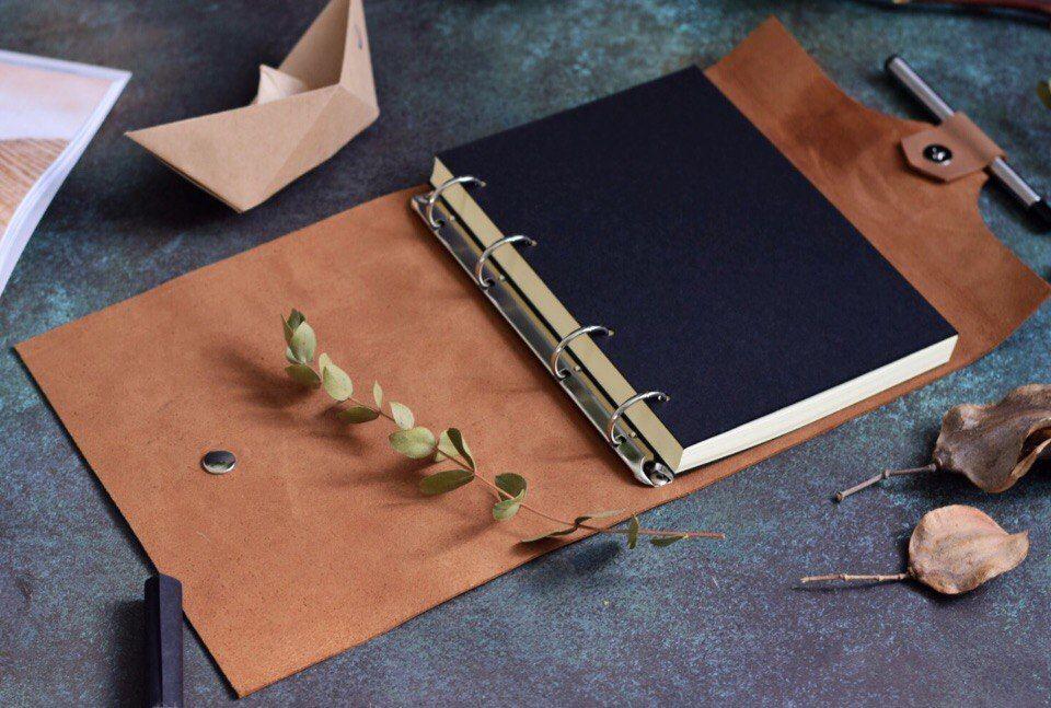 подарок женщине, ежедневник ручной работы