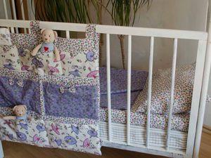 Органайзер на детскую кроватку: нужен или нет? | Ярмарка Мастеров - ручная работа, handmade