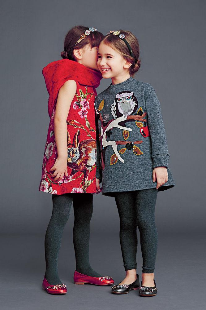 Модная детская одежда для девочек до 10 лет - зима