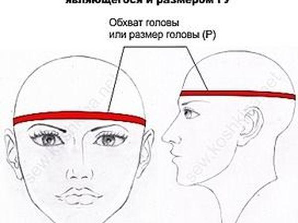 Как измерить свой обхват головы! | Ярмарка Мастеров - ручная работа, handmade
