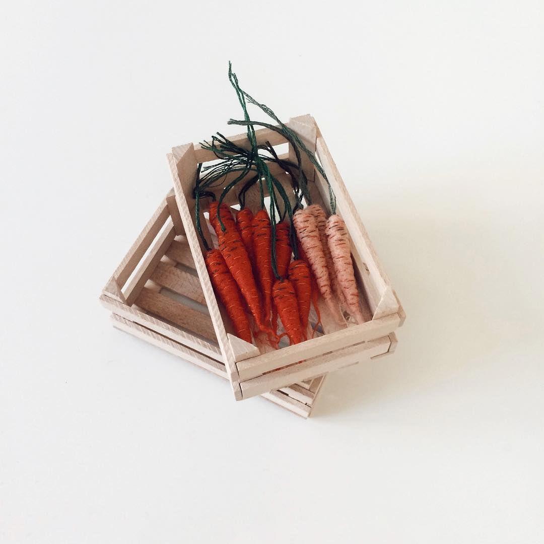 Огород на пяльцах: объемные овощи в работах Veselka Bulkan