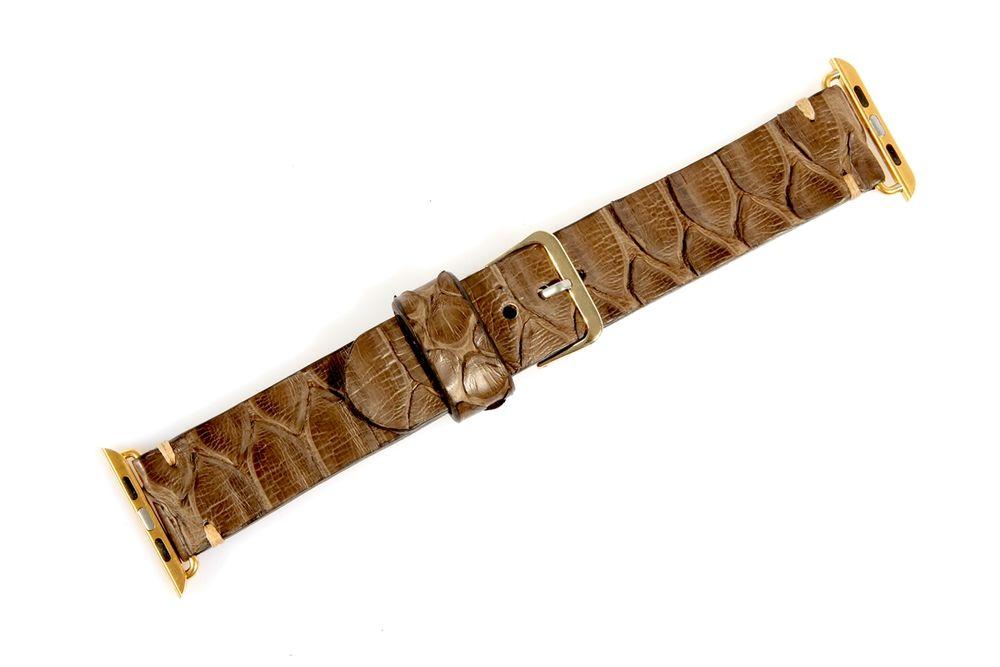 кожа крокодила, ремешок для часов, ручная работа, пошив на заказ, подарок мужчине