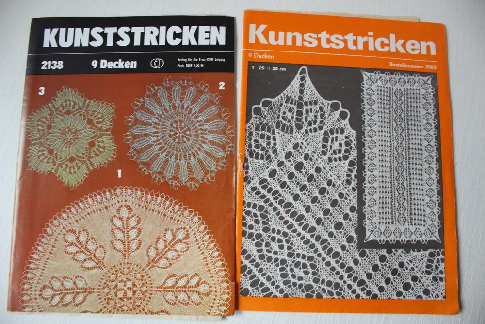 вязание спицами, старый журнал