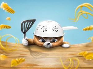 Кот-пастафарианин — креативный наперсток. Ярмарка Мастеров - ручная работа, handmade.