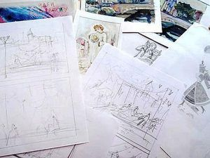 Что Рисовать? 11 Идей для Ежедневного Рисования. | Ярмарка Мастеров - ручная работа, handmade