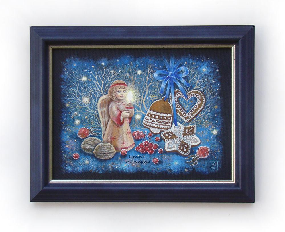 рождественский ангел, авторская ручная работа, новогодний, спальня гостиная дом