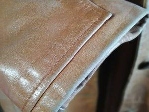 Помогите спасти кожаный плащ | Ярмарка Мастеров - ручная работа, handmade