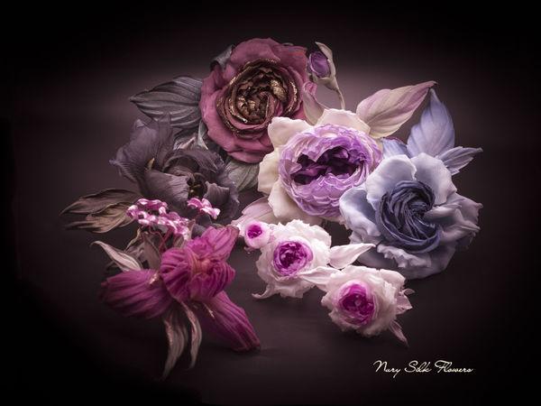 Акция на готовые изделия из шелкового сада Nury Silk Flowers в честь двухлетия моего магазина! | Ярмарка Мастеров - ручная работа, handmade