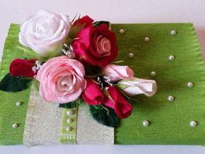 Конфетный букет или упаковка сладкого подарка с цветами. | Ярмарка Мастеров - ручная работа, handmade