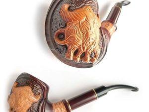"Новинка! Курительная трубка ""Bull"". Ярмарка Мастеров - ручная работа, handmade."
