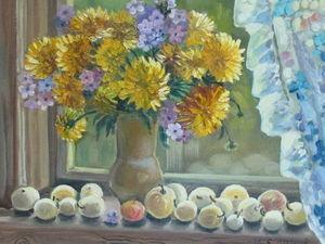 Золотые шары - цветы из детства!. Ярмарка Мастеров - ручная работа, handmade.