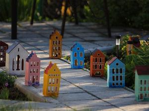 Про домики и погоду. Ярмарка Мастеров - ручная работа, handmade.