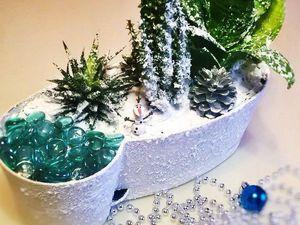 Создаем новогодний мини-сад «Зимний лес». Ярмарка Мастеров - ручная работа, handmade.