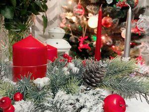 Создаем рождественскую композицию. Ярмарка Мастеров - ручная работа, handmade.