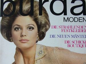 Burda moden 10/1968 Бурда Моден. Ярмарка Мастеров - ручная работа, handmade.