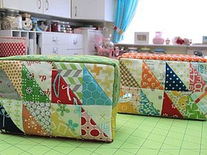 DIY for Beginners: Sewing Triangle Patchwork Blocks. Livemaster - handmade