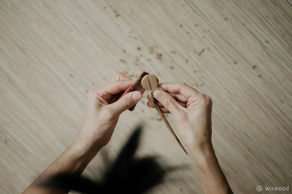 деревянная шпилька