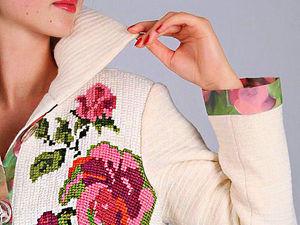 Охота за красотой: пальто с декоративной вышивкой и интересными вариантами отделки. Ярмарка Мастеров - ручная работа, handmade.