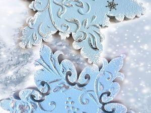 Новогоднее украшение в подарок. Ярмарка Мастеров - ручная работа, handmade.