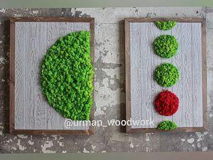 Вертикальное озеленение интерьера Суши бара. Ярмарка Мастеров - ручная работа, handmade.
