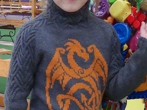 Детский свитшот DRAGON. Итоги тестирования. Ярмарка Мастеров - ручная работа, handmade.