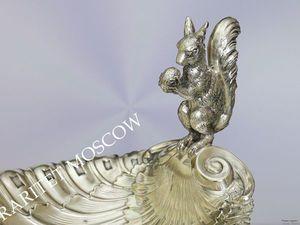Раритетище Ваза белка серебрение Wmf 19 век 25 | Ярмарка Мастеров - ручная работа, handmade
