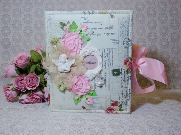 Фотоальбом на Крестины   Ярмарка Мастеров - ручная работа, handmade