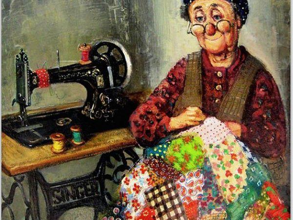 Солнечный свет маленькой жизни. Грузинский художник Ладо Тевдорадзе: 50 теплых и душевных картин | Ярмарка Мастеров - ручная работа, handmade