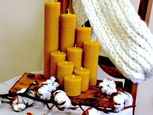 О новинке в магазине и о том, почему наши свечи пахнут медом!. Ярмарка Мастеров - ручная работа, handmade.
