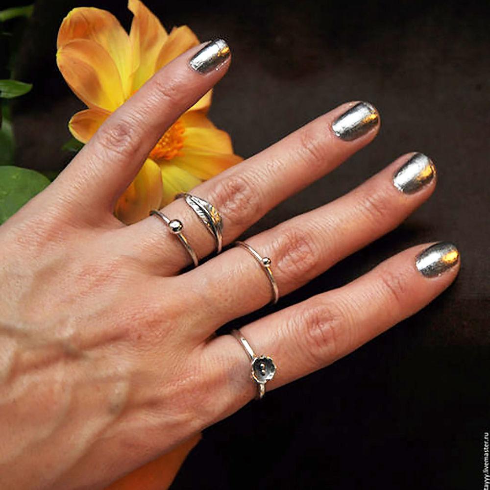 изготовление кольца, пайка серебра