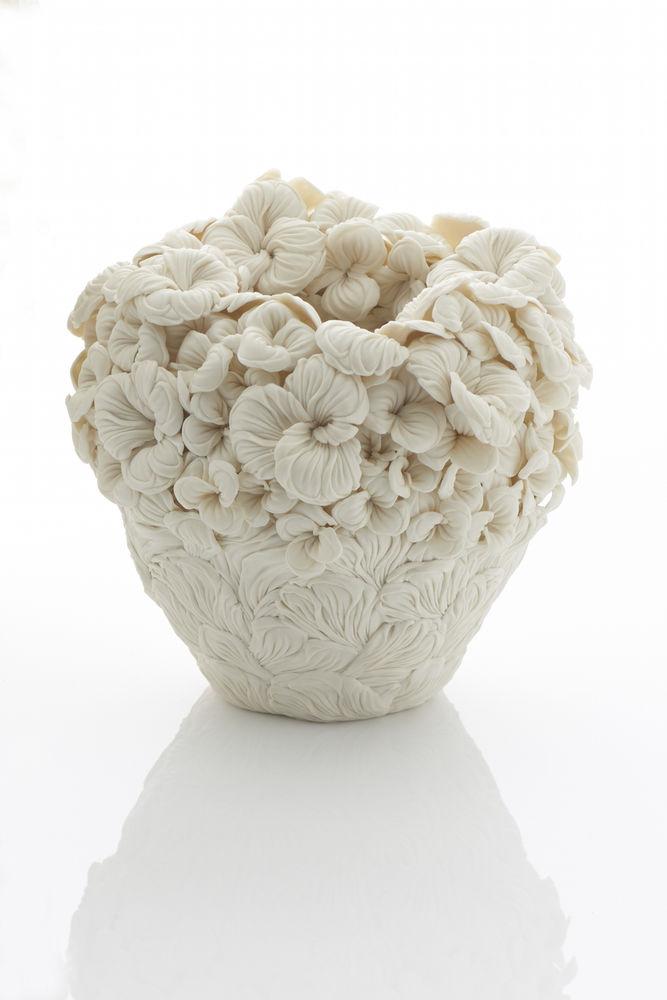 Потрясающие работы Hitomi Hosono: растения, застывшие в фарфоре, фото № 7