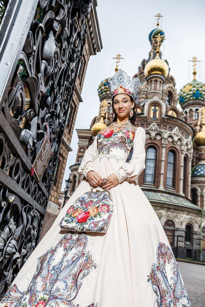 свадебное платье, павловопосадский лоскут