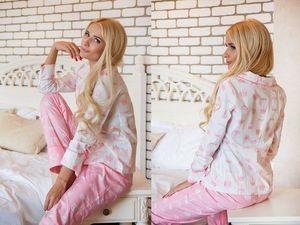 Яркая пижама с необычным, приковывающим взгляд притом!. Ярмарка Мастеров - ручная работа, handmade.