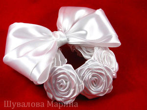 Делаем крученую розу из атласной ленты. Ярмарка Мастеров - ручная работа, handmade.