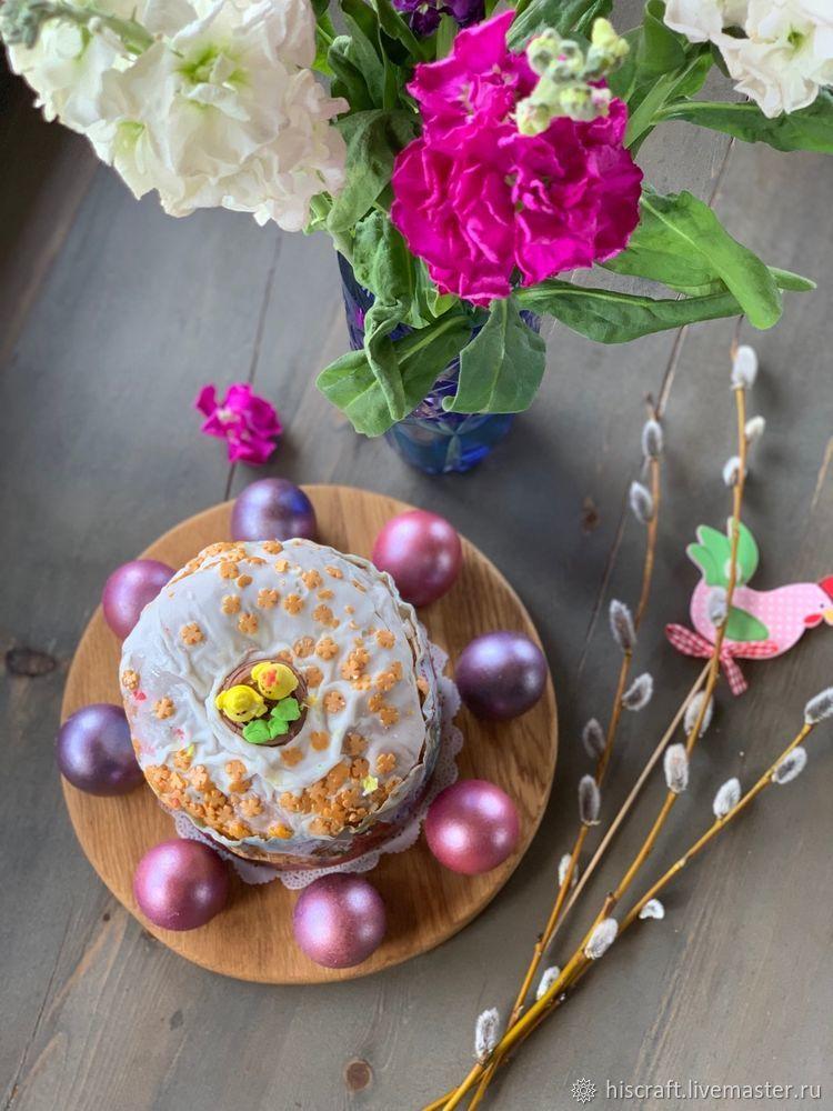 Изготавливаем пасхальную подставку для яиц и кулича, фото № 17